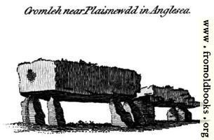 Cromleh near Plaisnewdd in Anglesea