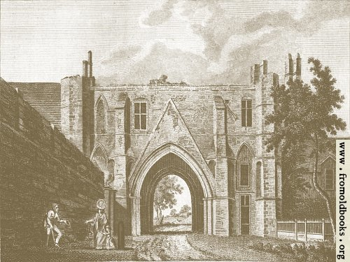 [Picture: Reading Abbey (Background 4)]