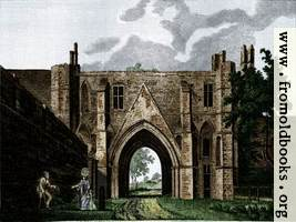Reading Abbey (Coloured version)
