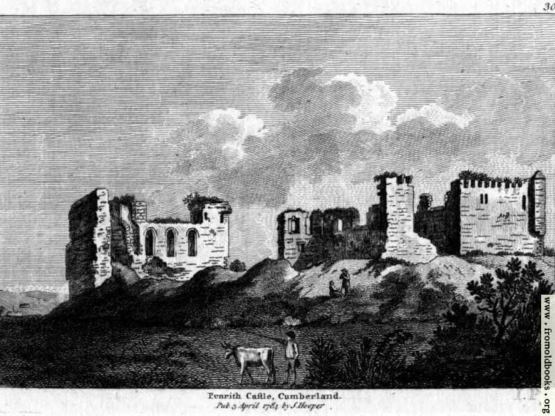 [Picture: Penrith Castle, Cumberland, Wales]