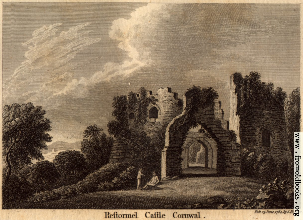 [Picture: Restormel Castle, Cornwall]
