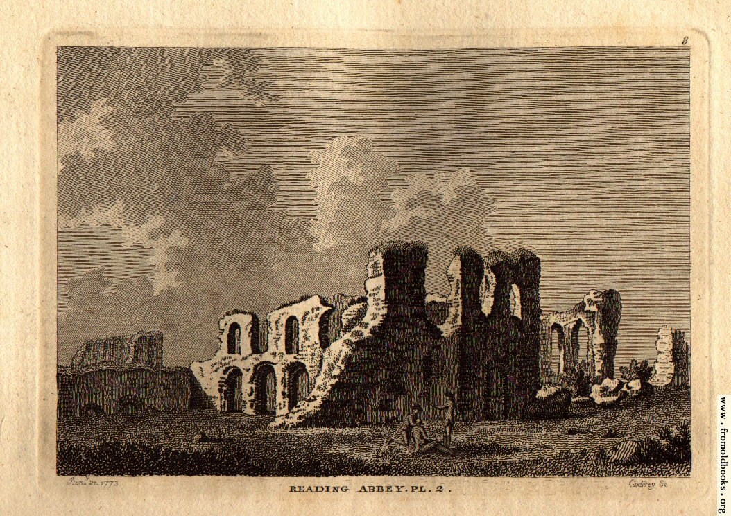 [Picture: Reading Abbey, Berkshire.]