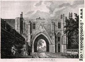 [picture: Reading Abbey, Plate 1]