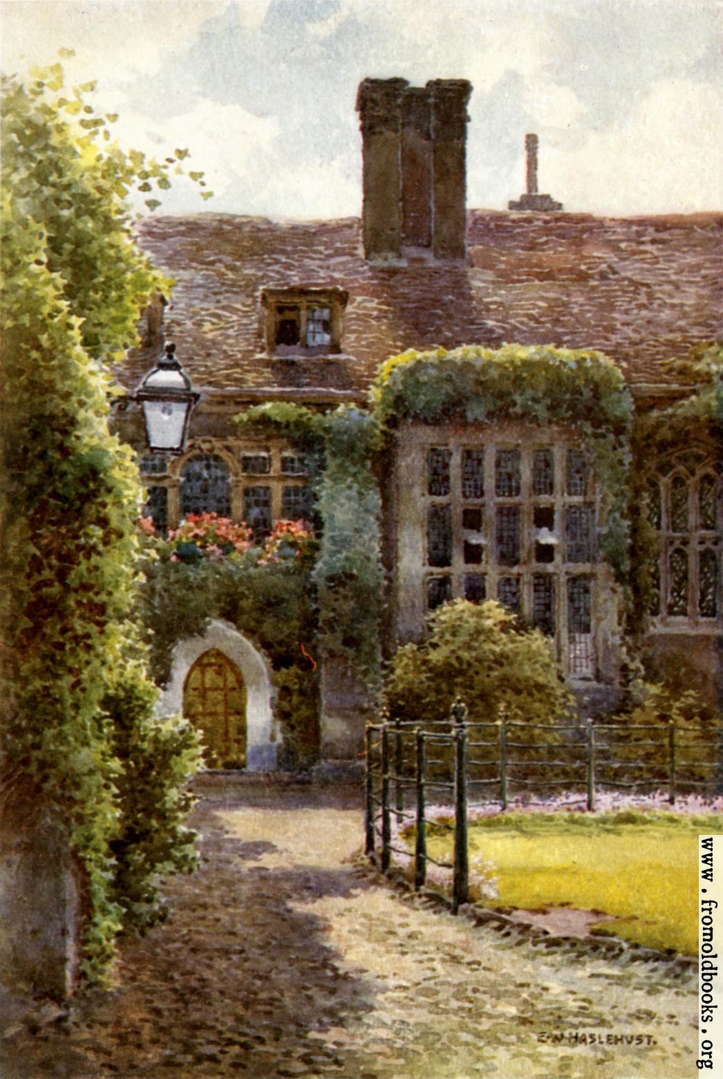 [Picture: The Old Hall, Corpus Christi College]