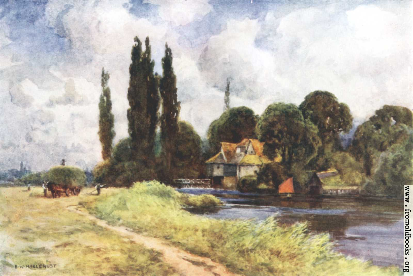 [Picture: Iffley Mill, near Christ Church Meadow, Oxford]
