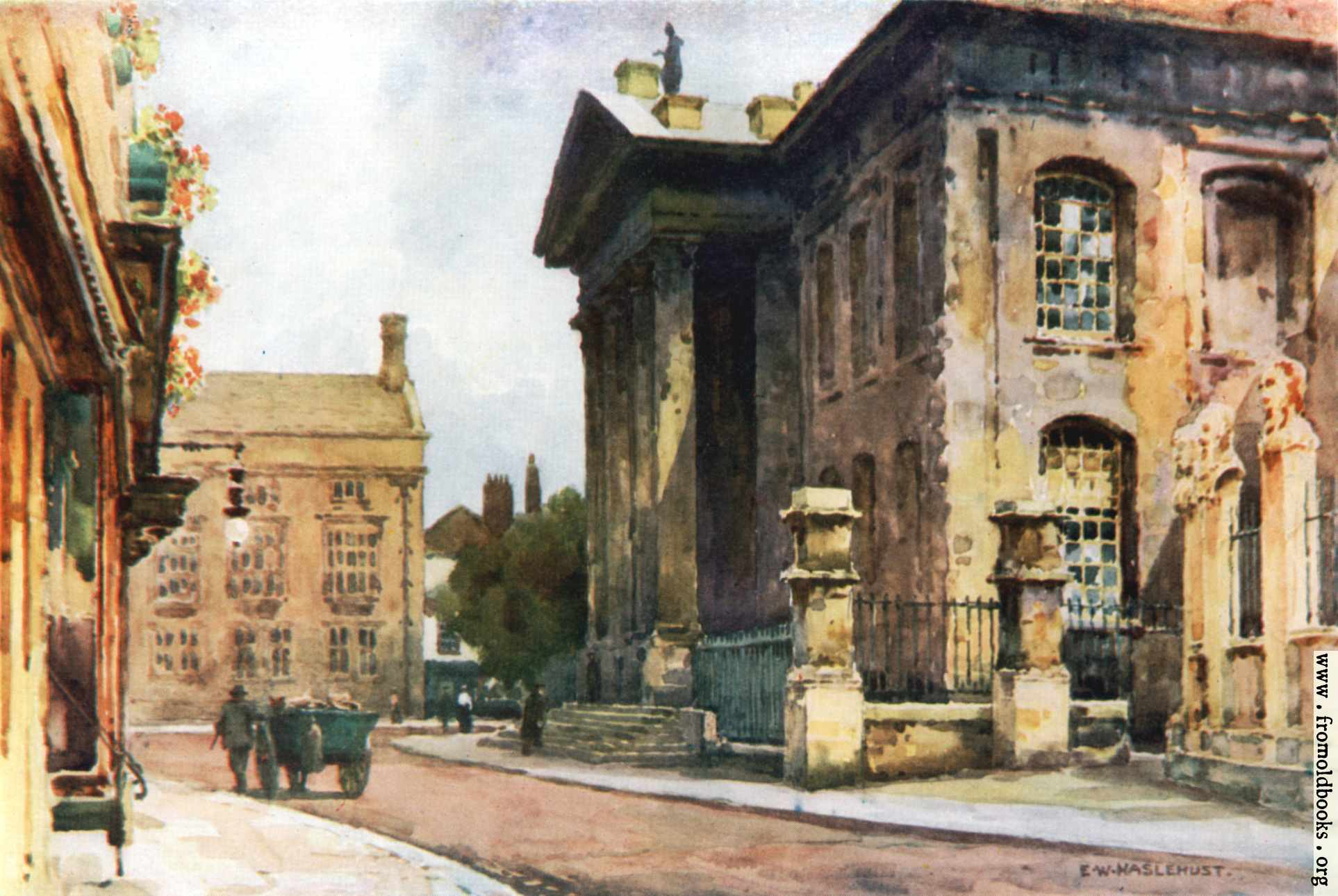 [Picture: Old Clarendon Building, Broad Street, Oxford]