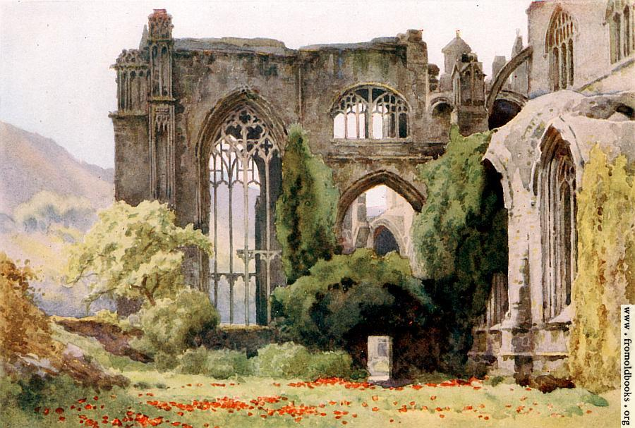[Picture: Melrose Abbey: Choir and North Transept]