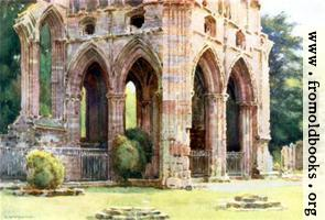 [picture: Dryburgh Abbey]