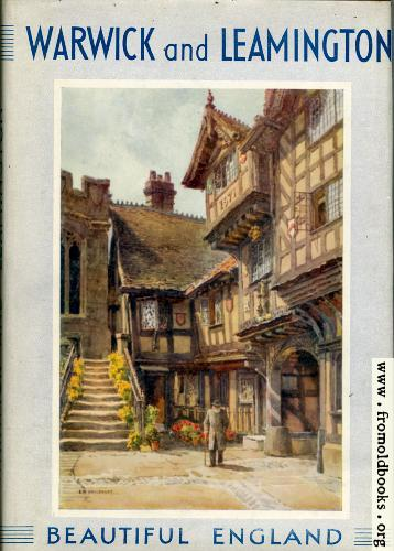 "[Picture: Front cover of ""Warwick and Leamington""]"