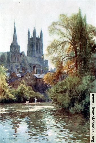 [Picture: The Leam at Leamington]