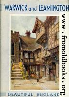 [picture: Front cover of ``Warwick and Leamington'']