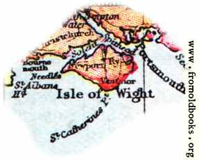 [Picture: Overview map of Isle Of Wight, England]