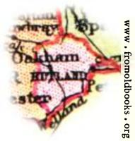 [Picture: Overview map of Rutland, England]