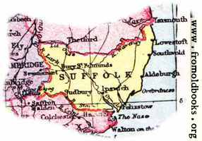 [picture: Overview map of Suffolk, England]