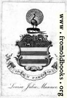 [Picture: Bookplate from Leland's Itinerary Vol I]