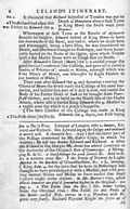 [Picture: Leland's Itinerary, Volume 1 Page 6]