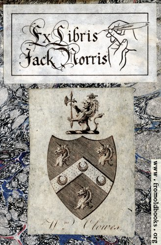 [Picture: Two Bookplates]