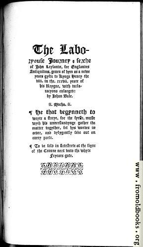 [Picture: Title page, New Year's Gift]