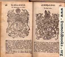 [Picture: Examples: His Grace Thomas Hollis Pelham, D. of Newcastle; George, by the Grace of God, Kind of Great-Britain, France and Ireland, &c. Defender of the Faith, our only Rightful and Ever-Glorious Sovereign]