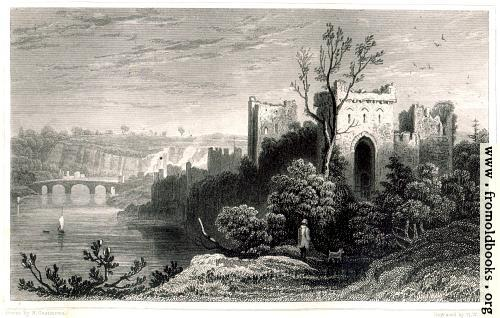 [Picture: Chepstow Castle]