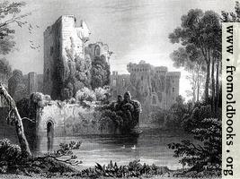 [Picture: Raglan (Raglan) Castle]