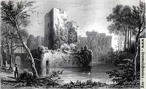 [Picture: Ragland (Raglan) Castle, Monmouthshire]