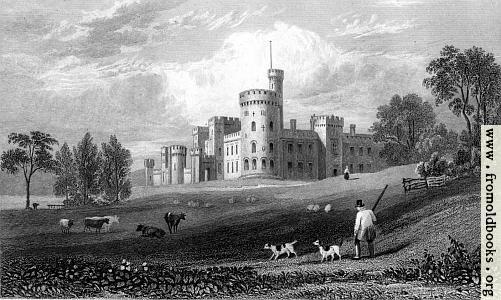 [Picture: Plate 17.—Cyfartha Castle]
