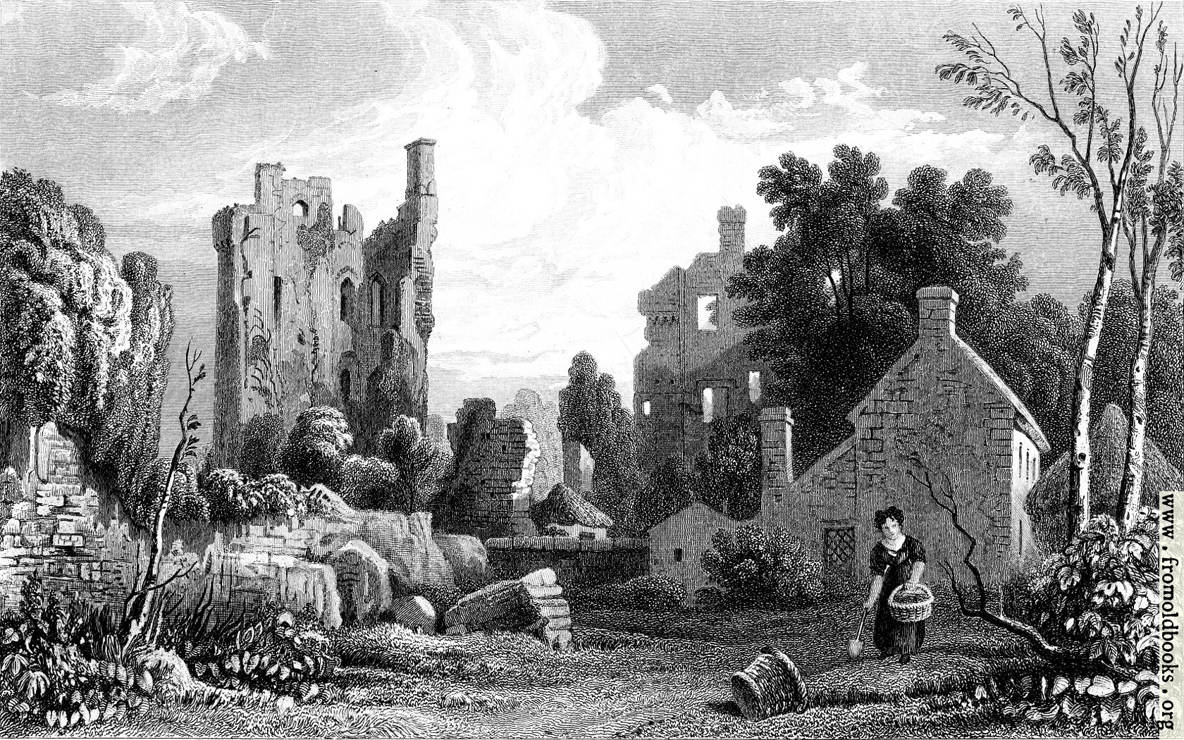 [Picture: Coity Castle, Glamorganshire]