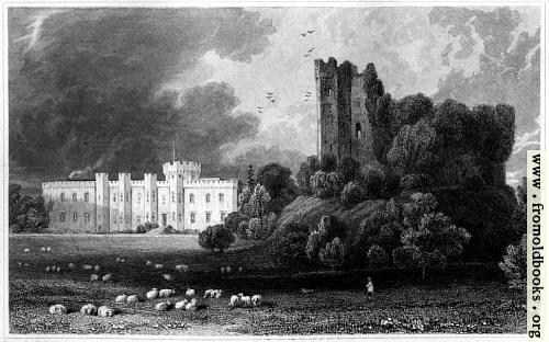 [Picture: Plate 41.—Cardiff Castle]