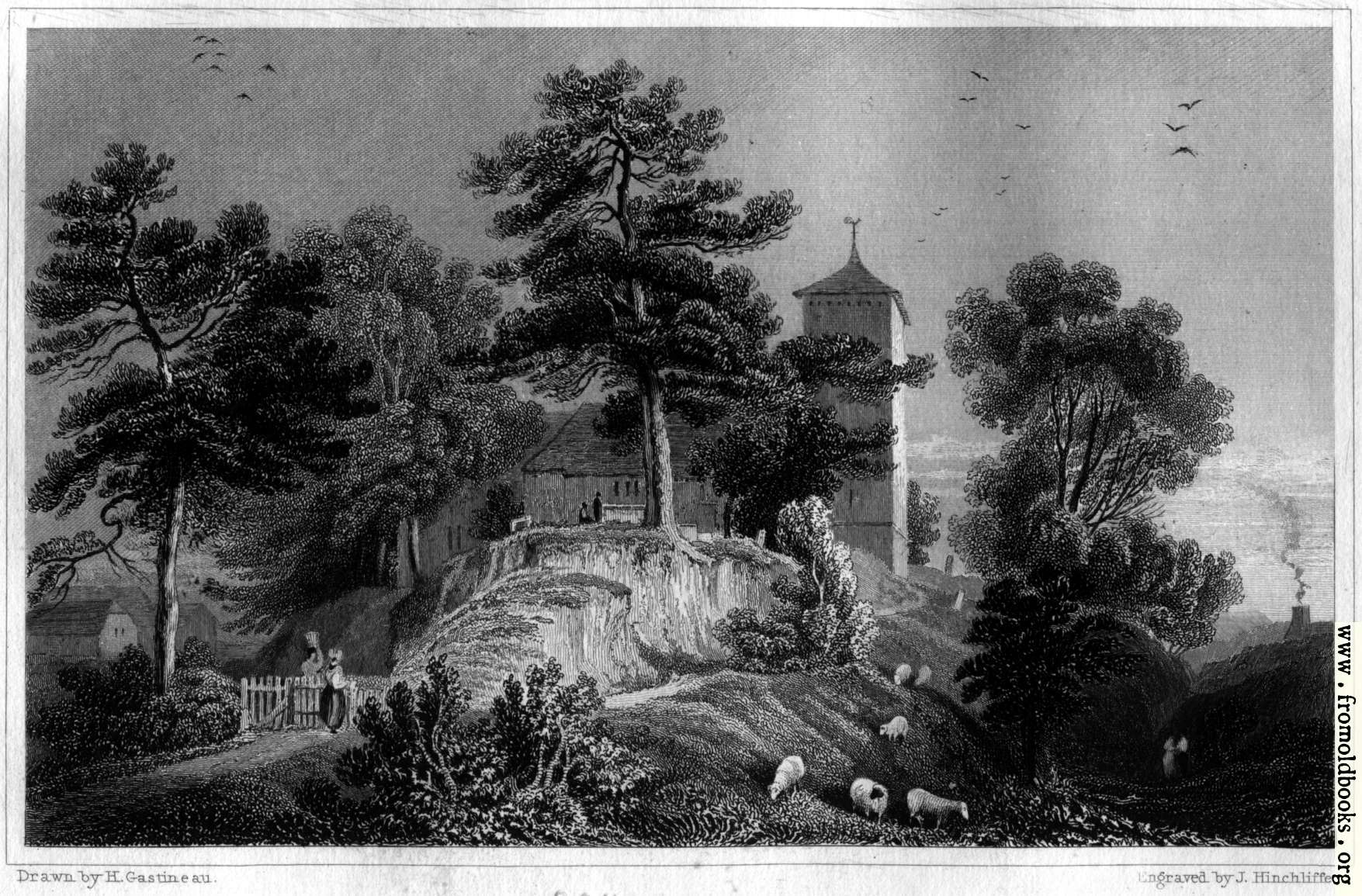 [Picture: Plate 46.—Hay Church]