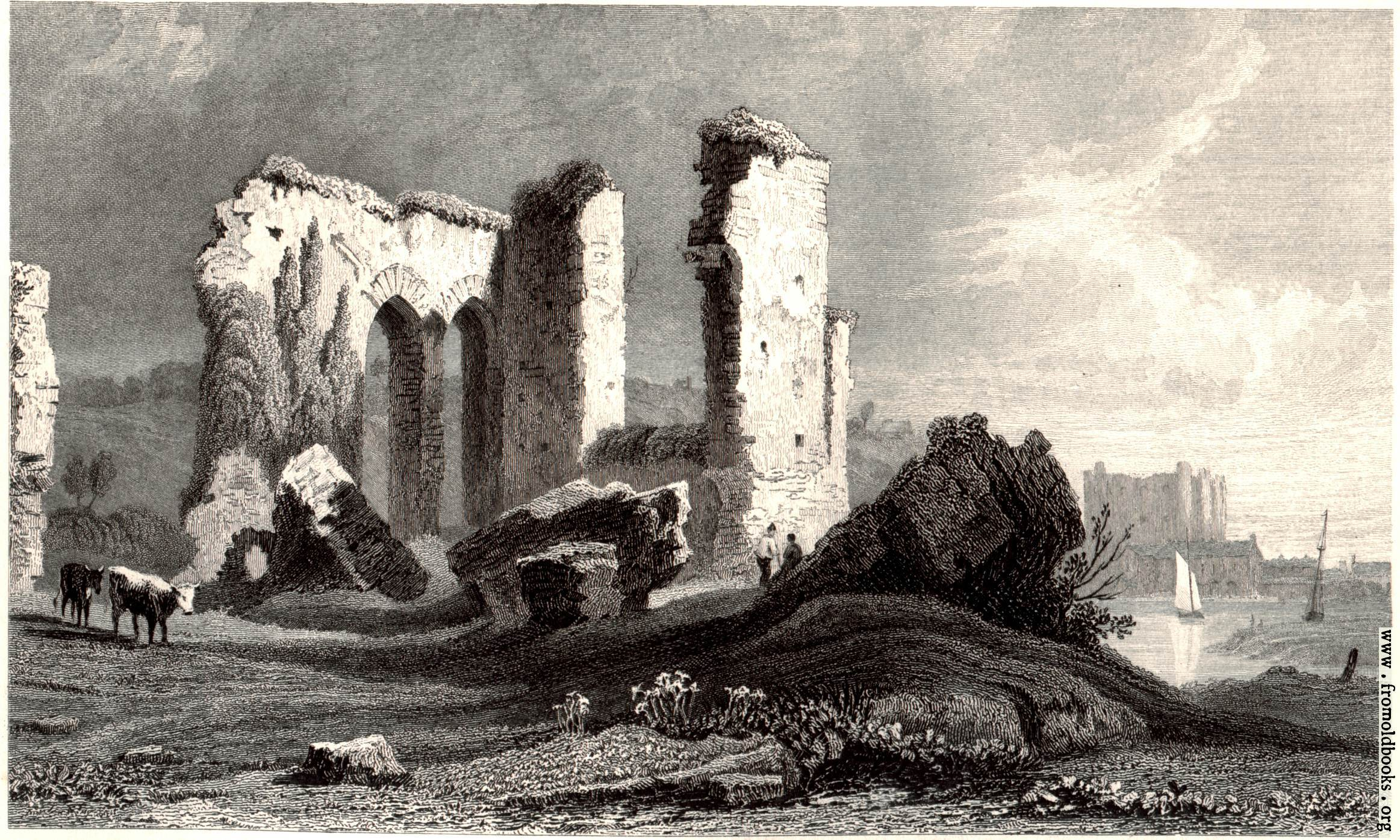 [Picture: Remains of Priory at Havorfordwest [Haverfordwest]]