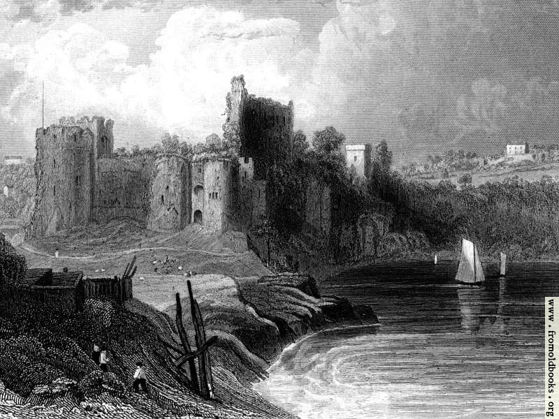 [Picture: Chepstow Castle, 4:3 cropped version]