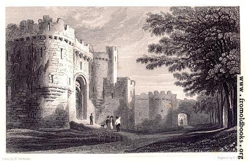 [Picture: Entrance to Beaumaris Castle]