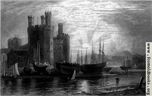 [Picture: Plate 72.—Caernarvon Castle]