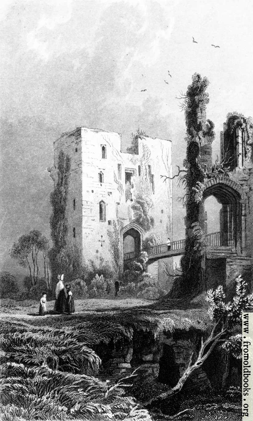 [Picture: Ragland Castle Keep, Monmouthshire]