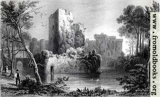 [picture: Ragland (Raglan) Castle, Monmouthshire]