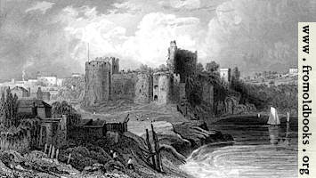 [picture: 62.---Chepstow from the bridge.]