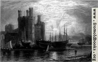 [picture: Plate 72.---Caernarvon Castle]