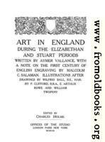 [picture: Title Page, Art In England]