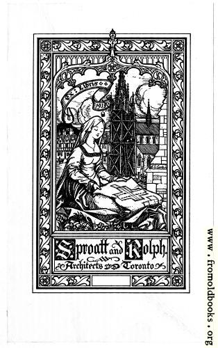 [Picture: Book Plate: Sproatt and Rolph]