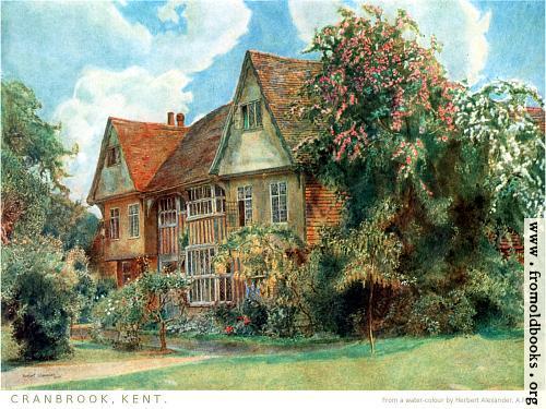 [Picture: Frontispiece: Cranbrook, Kent]