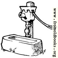 Endpiece: well-pump with horse-trough