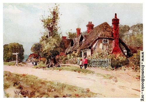 [Picture: Long Wittenham, Oxfordshire.]