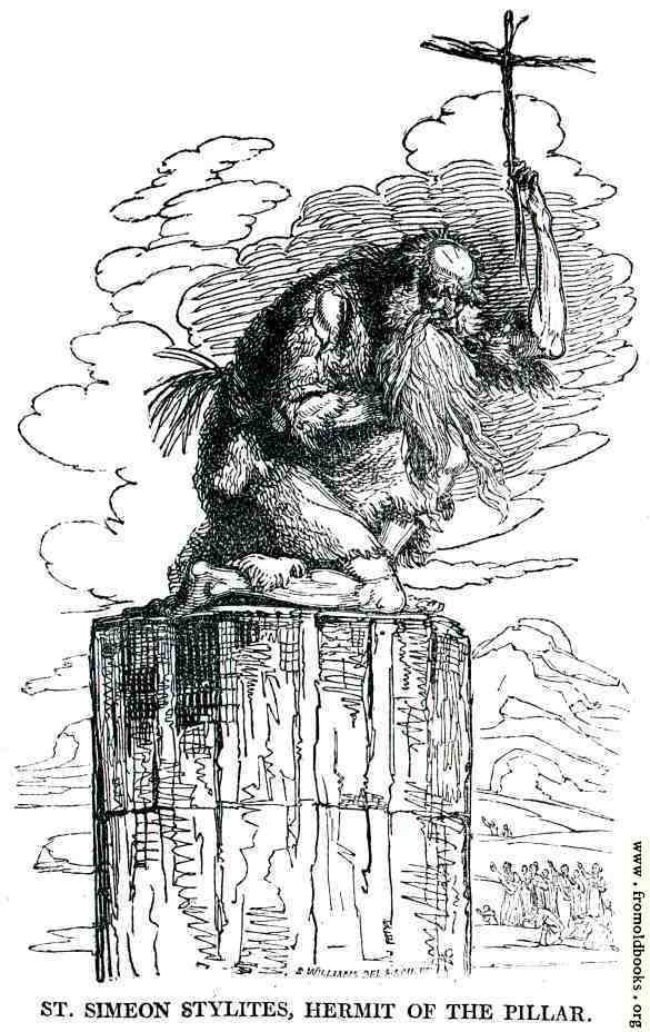 [Picture: St. Simon Stylites, Hermit of the Pillar]