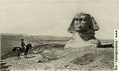 [Picture: Napoleon and the Sphinx]