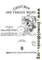 [picture: Title Page, Great Men and Famous Women]