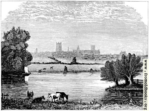 [Picture: Chester, from the Alford Road.]