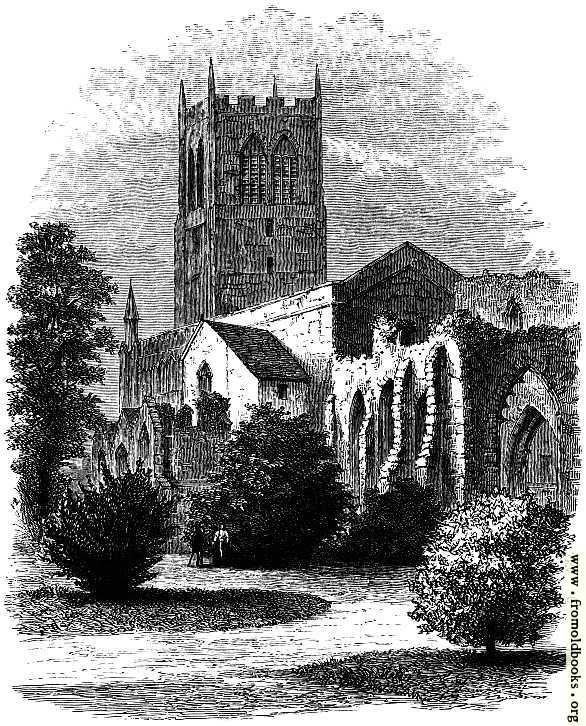 [Picture: Ruins of St. John's, from the Grosvenor Park,]