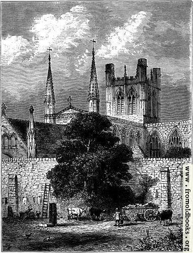 [Picture: Cathedral from the N.E. and part of City Wall.]