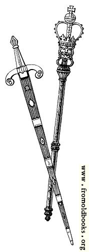 [Picture: Mace and Sword of Chester]